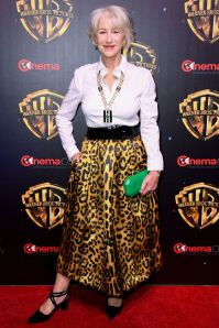 Helen MIrren al The Big Picture at CinemaCon