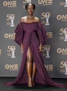 Lupita Nyong'o in Giambattista Valli ai NAACP Image Awards, Hollywood
