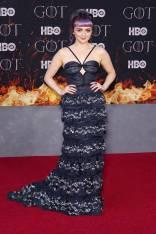 Maisie Williams in Miu Miu alla 'Game of Thrones' Season 8 Premiere, New York