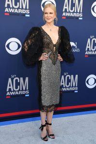 Nicole Kidman in Christopher Kane ai Country Music Awards, Las Vegas.