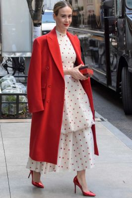 Sarah Paulson in Brock Collection, New York.