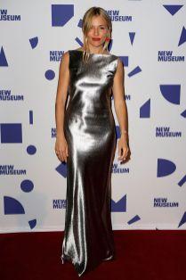 Sienna Miller al New Museum spring gala