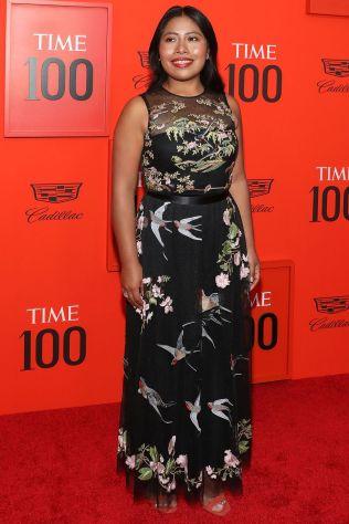 Yalitza Aparicio in RedValentino al Time 100 Gala