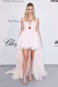 Chiara Ferragni in Giambattista Valli x H&M all'AmfAR Gala, Cannes
