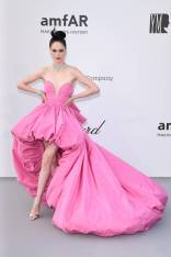 Coco Rocha in Ashi Studio Haute Couture all'amfAR Cannes Gala