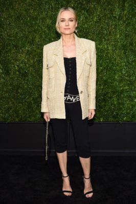 Diane Kruger in Chanel al Tribeca Film Festival dinner