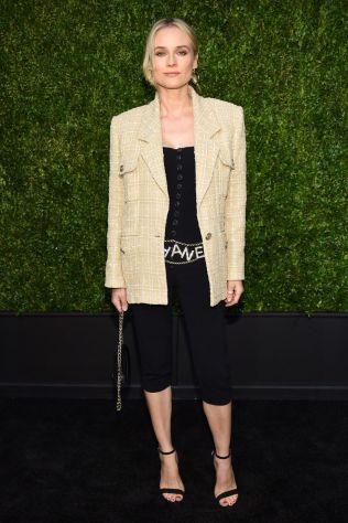 Diane Kruger in Chanel al Tribeca Film Festival dinner