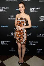 Lily Collins al Montclair Film Festival