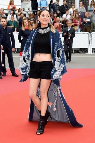Marion Cotillard in Balman al Cannes Film Festival Red Carpet 2019