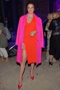 Shailene Woodley al Virgin Voyages event, London.