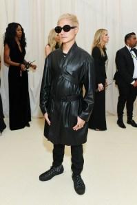 Verbal in Dior Homme al MET Gala, NY