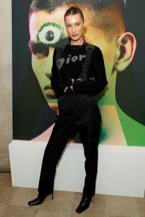 Bella Hadid in Dior al Dior event, London