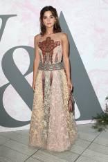 Jenna Coleman in Christian Dior al The Victoria & Albert Summer Party, London