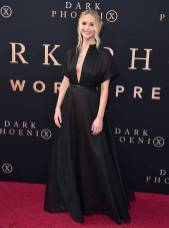 Jennifer Lawrence in Christian Dior alla The Dark Phoenix Premiere, Los Angeles