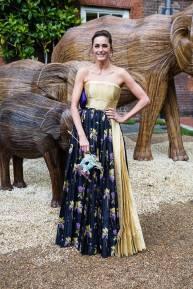 Yasmin Le Bon in Prada al The Animal Ball, London