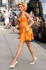Zendaya in Carolina Herrera , New York