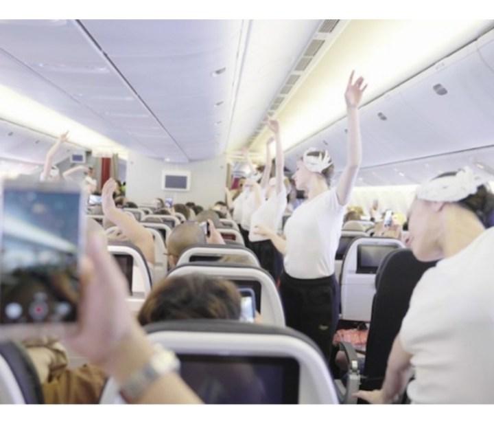 Balletto in alta quota: l'Opera' organizza un'esibizione in un volo Air France