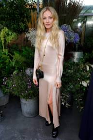 Clara Paget al Camilla and Marc x Selfridges dinner at The Conduit, London
