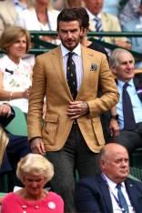 Davud Beckham a Wimbledon, London