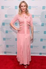 Emily Blunt all'Annual American Institute for Stuttering Benefit Gala, New York