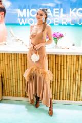Gigi Hadid in Michael Kors Collection al Michael Kors Wanderlust launch, New York