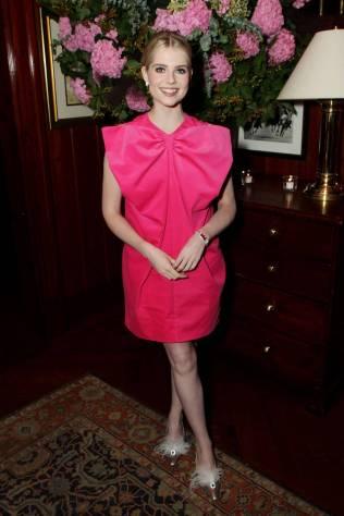 Lucy Boynton in Patou al The Politician screening, New York