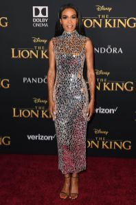 Michelle Williams in Atelier Zuhra alla The Lion King World Premiere, Hollywood