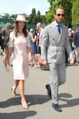 Pippa e James Middleton a Wimbledon, London