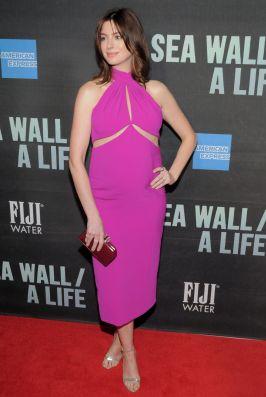 Anne Hathaway in Brandon Maxwell, Broadway