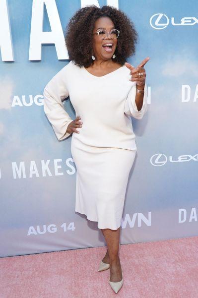Oprah Winfrey alla premiere of David Makes Man, LA