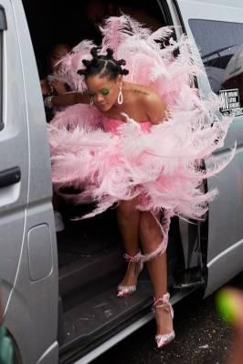 Rihanna in David LaPort a Cropover, Barbados