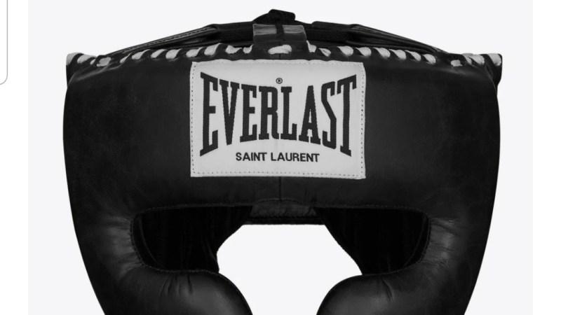 Arriva la linea da boxe di Everlast firmata Saint Laurent