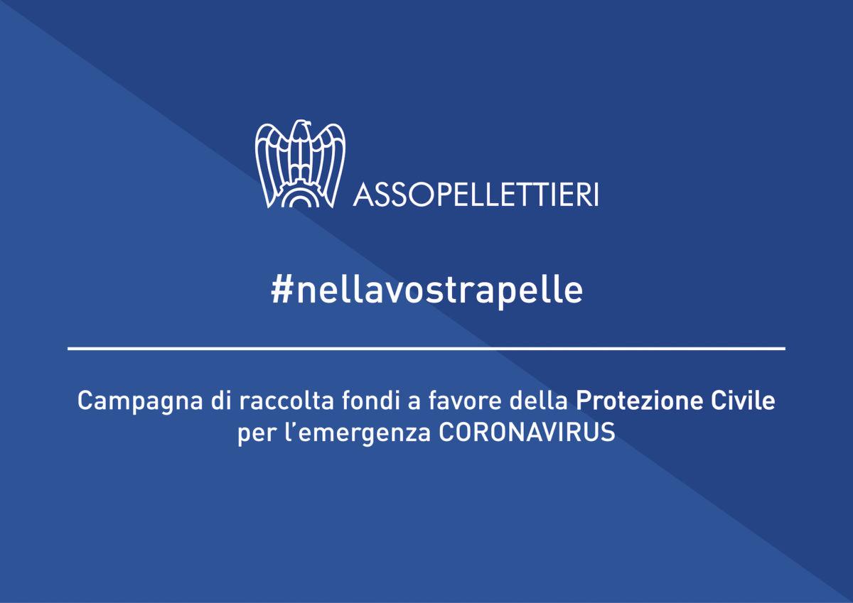 #NELLAVOSTRAPELLE , AssoPellettieri lancia la campagna a sostegno della Protezione Civile