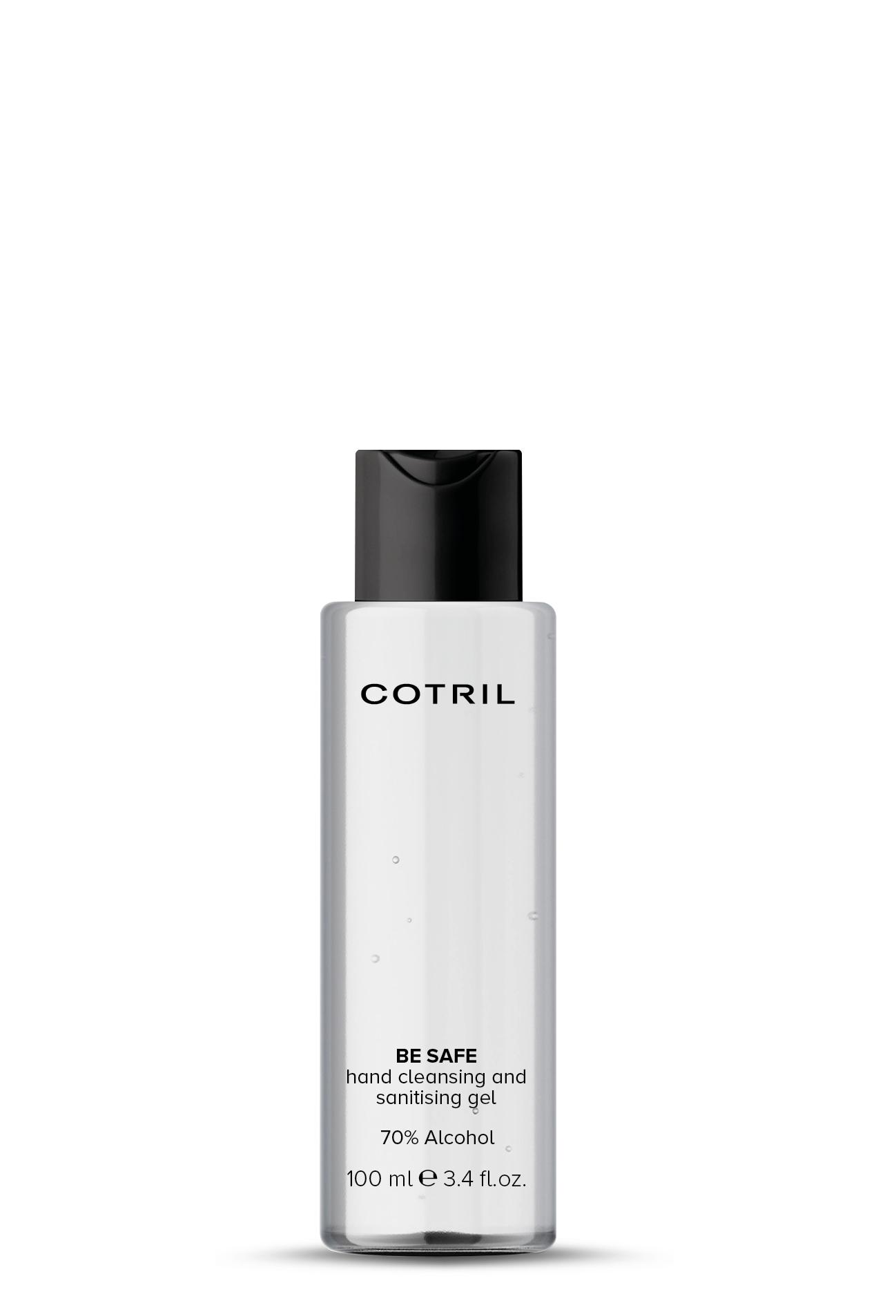 Arriva Be Safe, la nuova linea igienizzante di Cotril