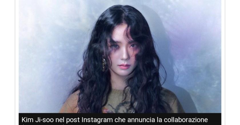 Kim Ji-soo è la nuova Dior Ambassador