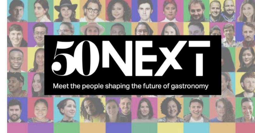 È nata 50 NEXT l'iniziativa che celebra i migliori nel food and beverage