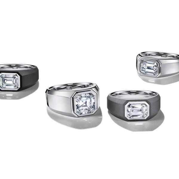 Da Tiffany arriva la prima linea di anelli di fidanzamento da uomo