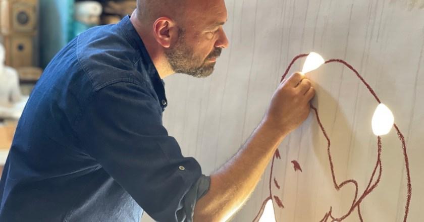 """Galleria Cracco presenta l'installazione site-specific """"Credere nella luce"""" dell'artista Valerio Berruti"""