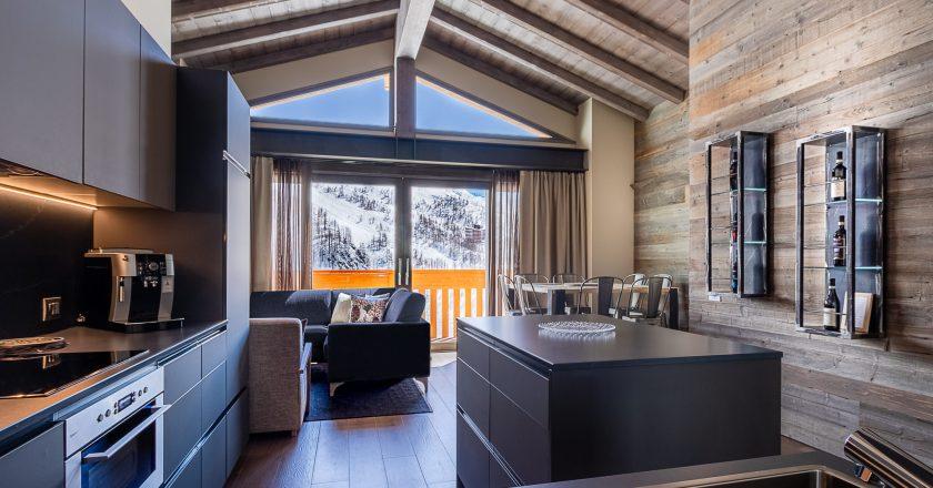 Concreta protagonista del progetto La Cresta Hotel di Cervinia