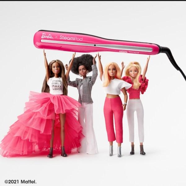 L'Oréal e Barbie lanciano una limited edition di steampod 3.0