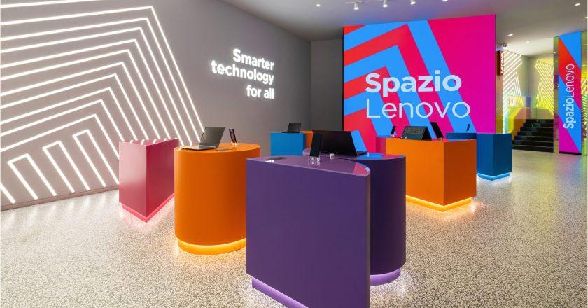 """Retail Design Institute premia lo """"Spazio Lenovo"""" di Alessandro Luciani"""