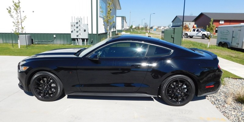 2016 Ford Mustang from Fargo Gets Protective Window Tint