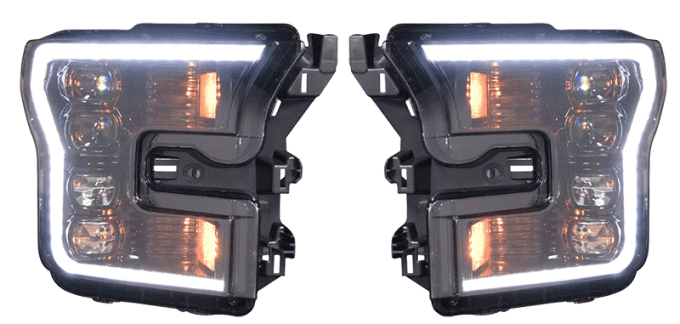 Upgraded Headlights