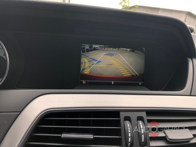 Mercedes-Benz Backup Camera