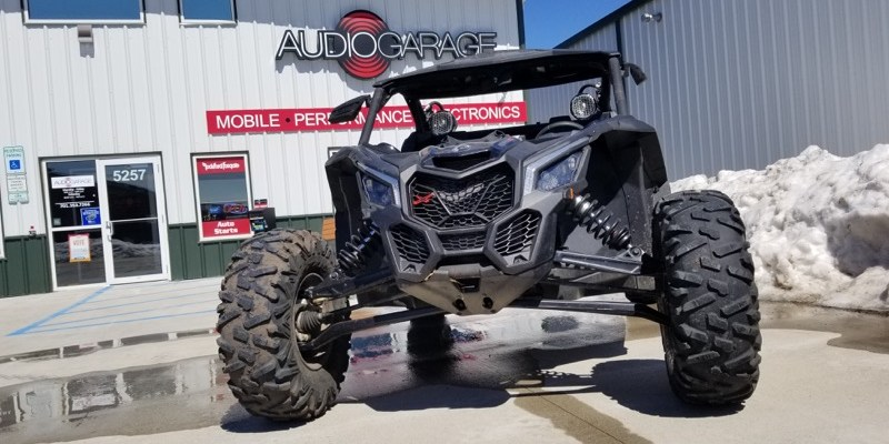 Massive Audio System Upgrade for Fargo Can-Am Maverick X3 Turbo R