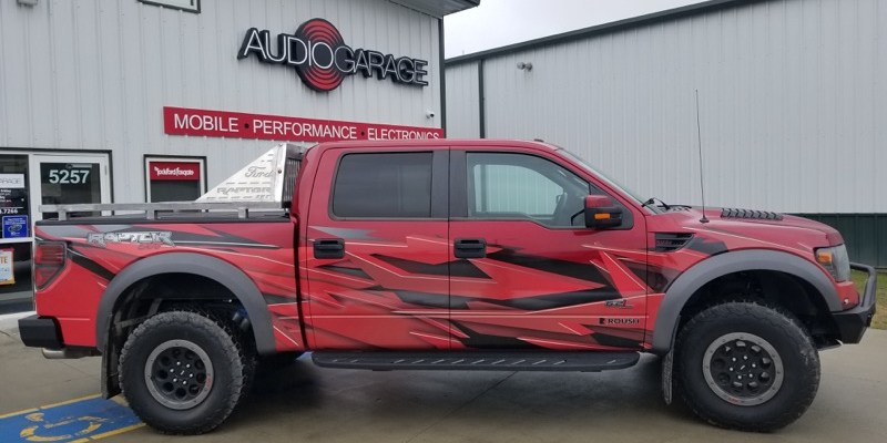 Ford Raptor Custom Bumpers and Lighting Upgrade for Fargo Client