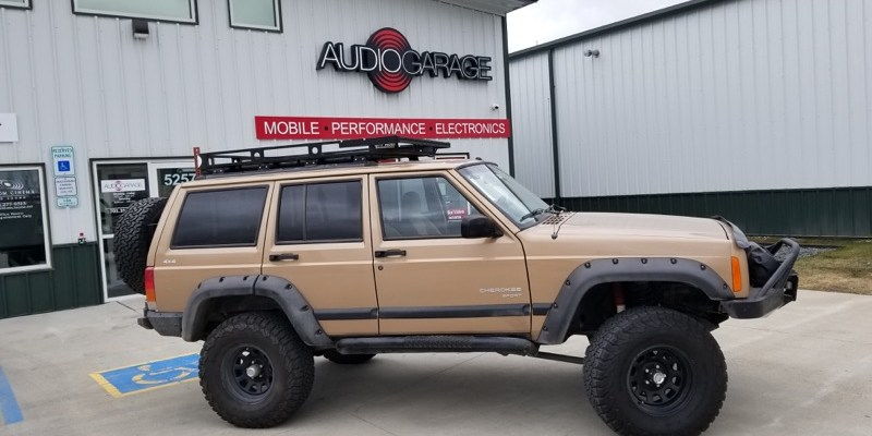 Radar, Lighting and Audio Upgrade for Jeep Cherokee from Fargo