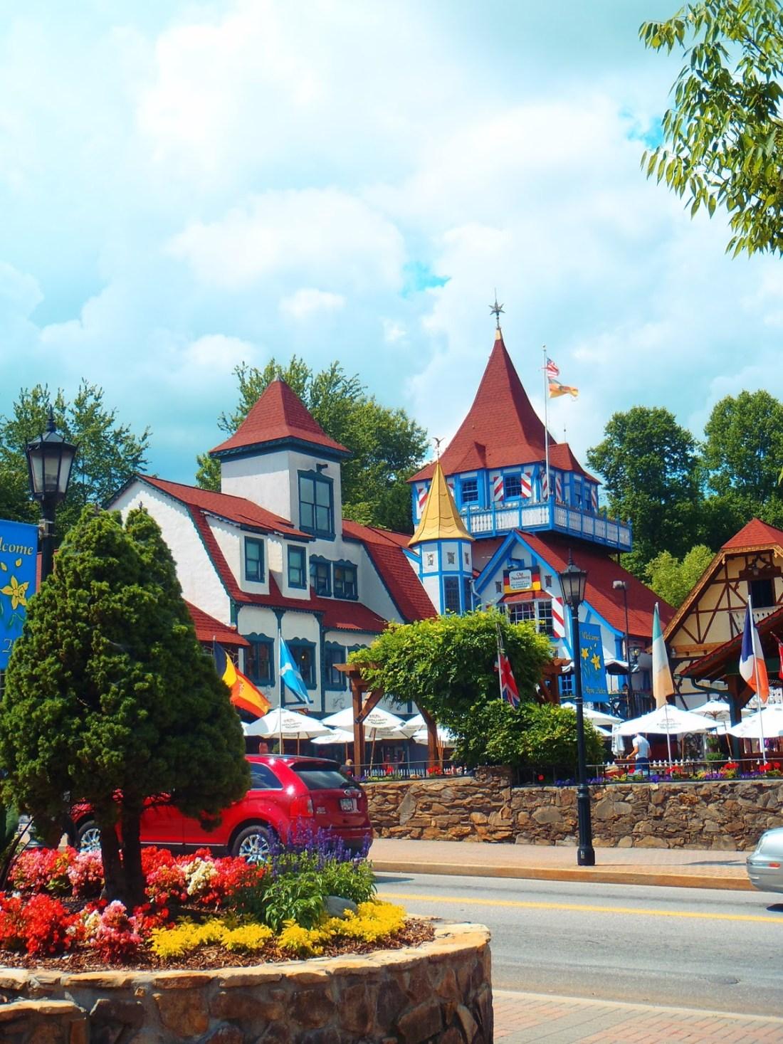 German Themed Town Helen Georgia