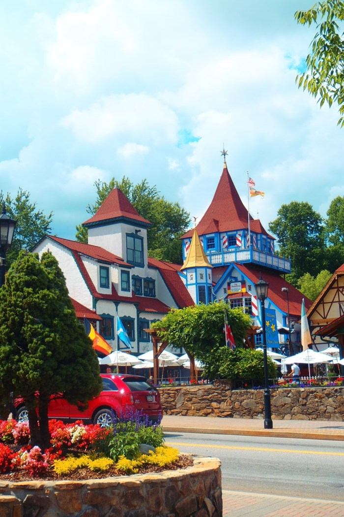 Adventures in the German themed village of Helen, Georgia