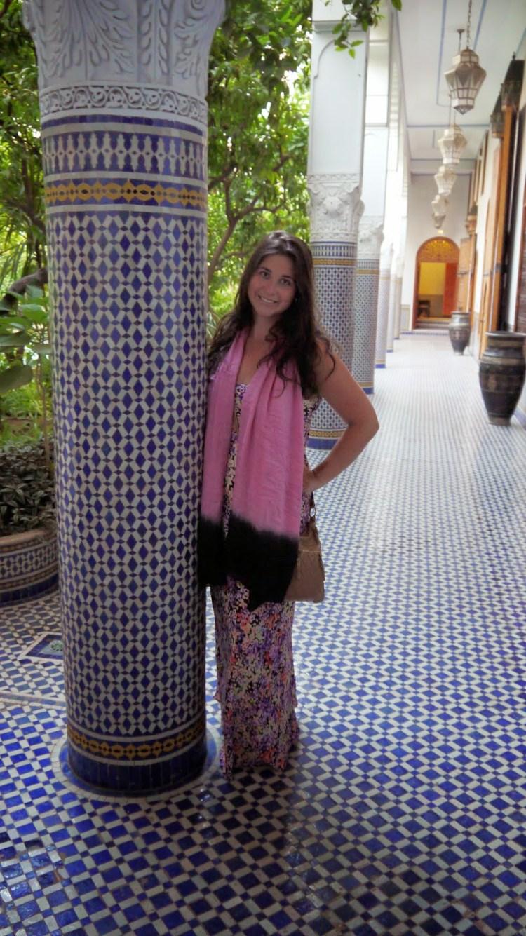 Simone at Palais Amani Fez